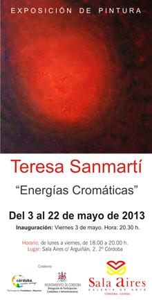 Teresa Sanmartí, Energías Cromáticas