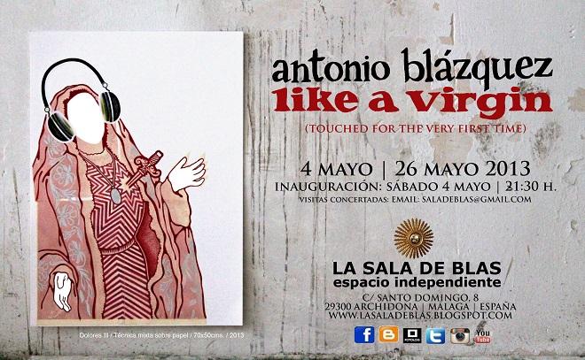 Antonio Blázquez, Like a Virgin