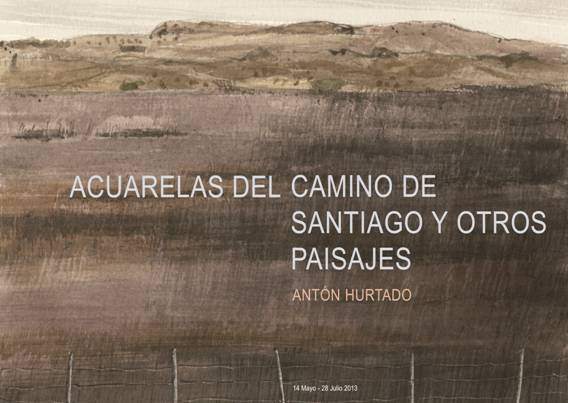 Acuarelas del Camino de Santiago y otros paisajes