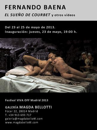 Fernando Baena, El sueño de Courbet y otros vídeos