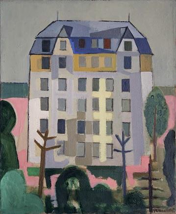 Josep Ma. Garcia-Llort, Maison agronomique, Cité universitaire, París, 1952