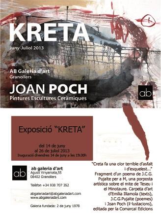Joan Poch, Kreta