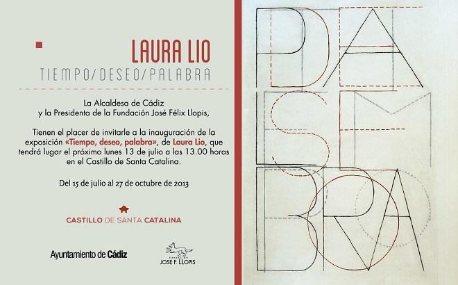 Laura Lio, Tiempo, deseo, palabra