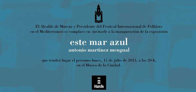 Invitación de la exposición