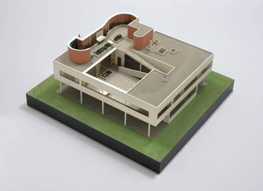Le Corbusier, Ville Savoye, Poissy, 1928-1931. Maqueta, 1932