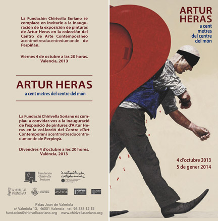 Artur Heras, A cent metres del centre del món