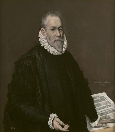 Rodrigo de la Fuente -?-, El Greco, h. 1582-1585