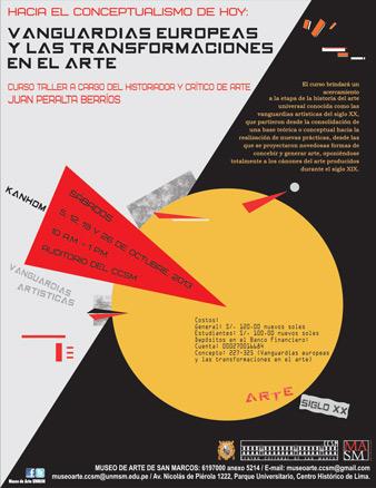 Hacia el conceptualismo de hoy. Vanguardias europeas...