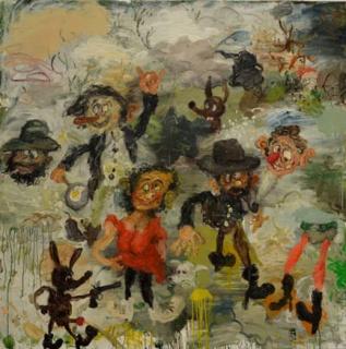 Matías Sánchez, Jodidos pero contentos, 2013 | Ir a la ficha del Artista 'Matías Sánchez'