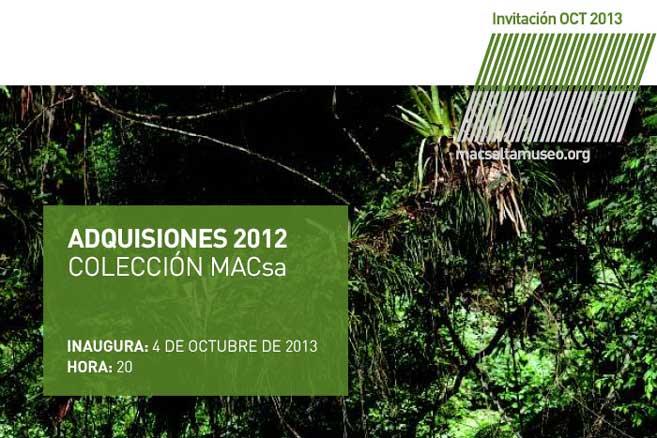 Adquisiciones 2012 - Colección MACsa