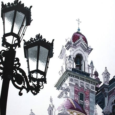 Rosana Sitcha, Parroquia de San Juan el Real, Oviedo