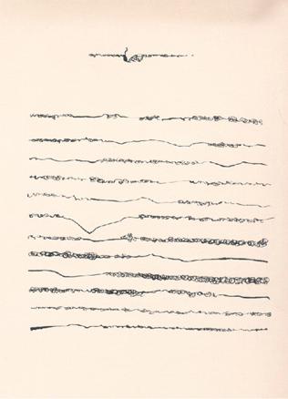 Mirtha Dermisache, Sin título. Carta, c. 1970