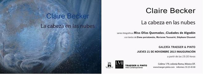 Claire Becker, La cabeza en las nubes