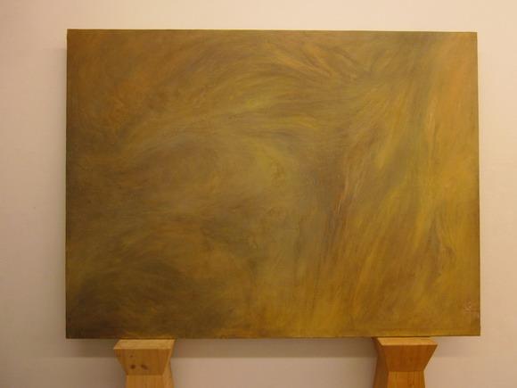 kombu, el más allá. Temple al huevo, óleo y resinatela. 150x300 cm