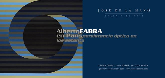 Alberto Fabra en París. Persistencia óptica en los setenta