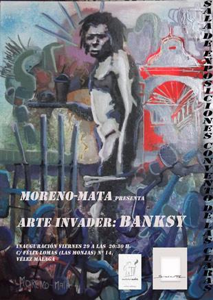 Moreno Mata, Arte Invader. Banksy