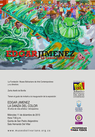 Edgar Jiménez, La danza del color