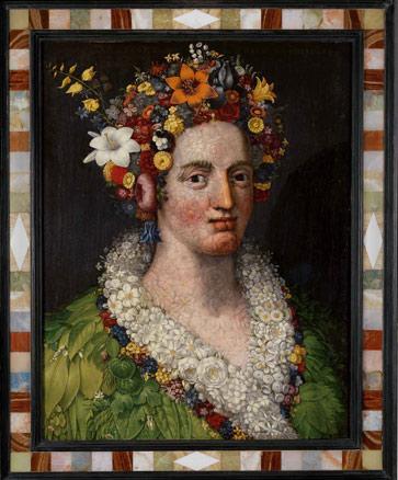 Giuseppe Arcimboldo, Flora, 1589