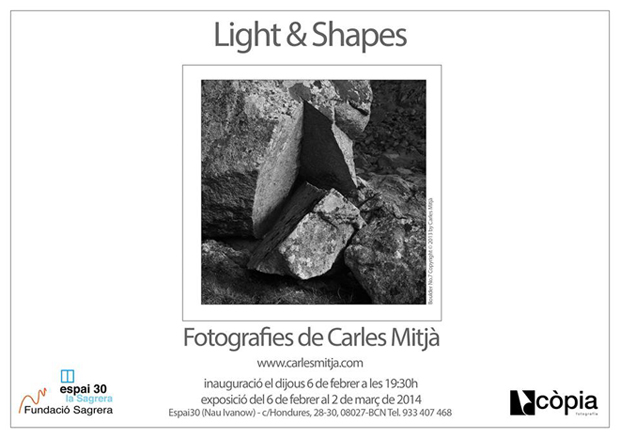 Carles Mitjà. Lights&Shapes