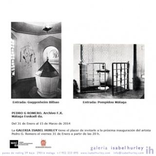 Ir al evento: 'Pedro G. Romero. Archivo FX. Málaga Euskadi da'. Exposición en Galería Isabel Hurley / Málaga, España