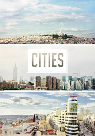 María Macías, Cities