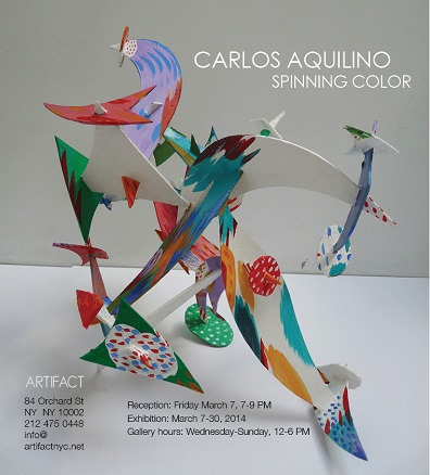 Carlos Aquilino,Spinning Color