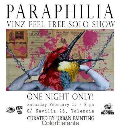 Vinz Feel Free, Paraphilia
