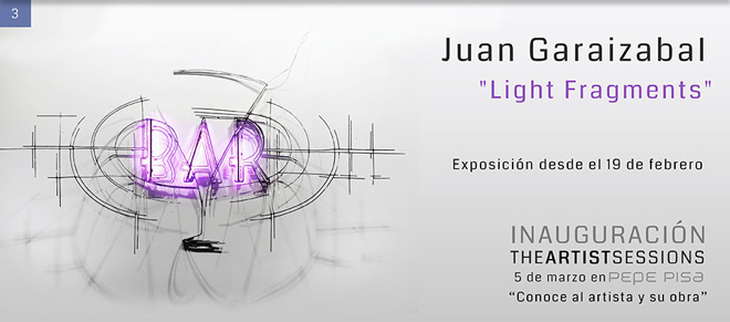 Juan Garaizabal, Light Fragments