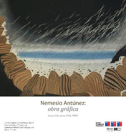 Nemesio Antúnez, obra gráfica
