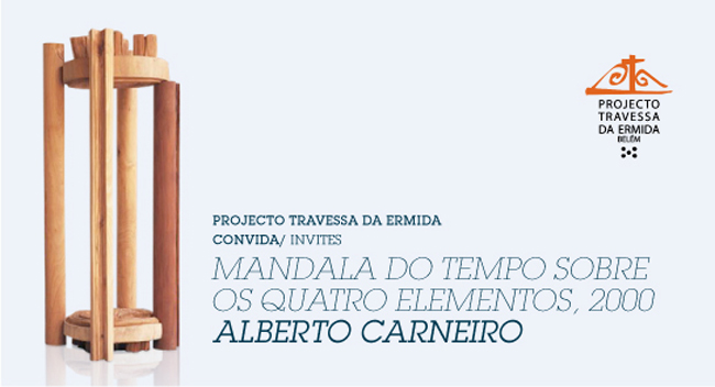 Alberto Carneiro, Mandala do Tempo sobre os quatro elementos