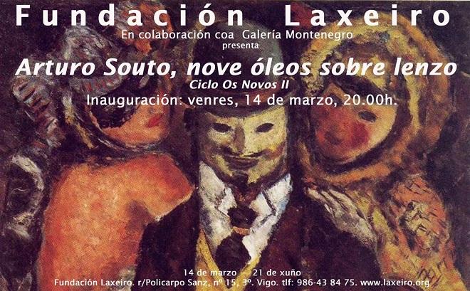 Arturo Souto, nove óleos sobre lenzo
