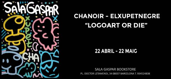 Chanoir - Elxupetnegre. Logoart or die