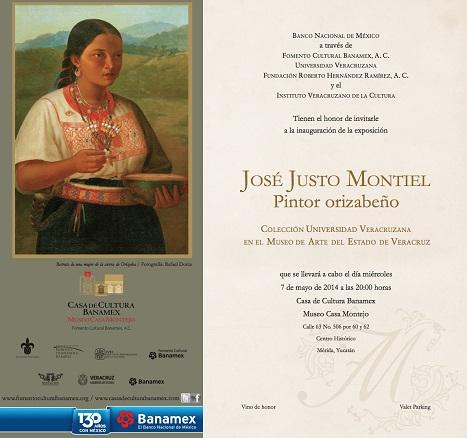 José Justo Montiel. Pintor orizabeño