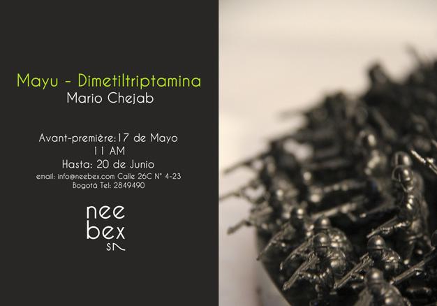 Mario Chejab, Mayu - Dimetiltriptamina