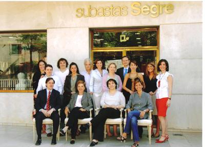 Equipo de Subastas Segre | Las casas de subastas españolas cuidan al coleccionista medio