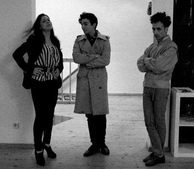 Laura, Raúl y Luis de Pantocrator Gallery | La joven Pantocrátor Gallery lanza una cascada de iniciativas expositivas y promocionales
