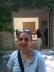 Dora Garcia en la entrada del Pab. esp. de la 54 B. de Venecia