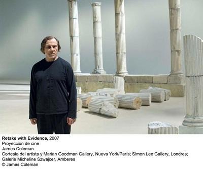 Retake with Evidence, 2007. Proyección de Cine. James Coleman   El Reina Sofia y el CAAC inauguran sendas exposiciones con obras incorporadas recientemente