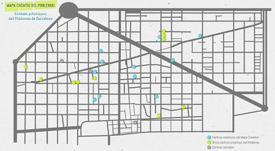 Mapa Creatiu del Poblenou en Barcelona | Se presenta la nueva web del Mapa Creatiu del Poblenou en Barcelona