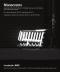 Cartel de la exposición Monócromo en la Fundación RAC
