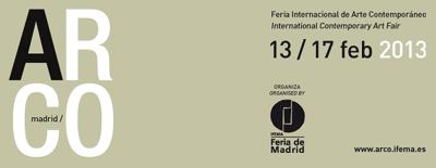 Logo de ARCOmadrid 2013   ARCOmadrid sigue fiel a su número y nombres de galerías españolas