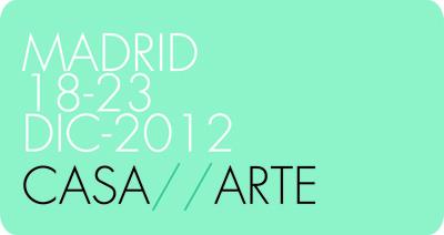 Logo de CASA ARTE | La primera edición CASA/ARTE reunirá unas 25 galerías días antes de Navidad