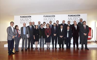 Presentación de la Fundación Museo Reina Sofía | El Reina Sofía se dota de una Fundación con coleccionistas para ampliar el trabajo en red