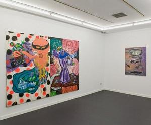Vista de la exposición de Patricia Gadea en Garcia Galería | García Galería revisa la carrera de la artista madrileña Patricia Gadea