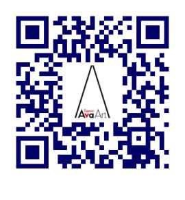 Código QR de AvaArt | AvaArt: única galería española en la séptima Trienal de Arte Comtemporáneo de Eslovenia