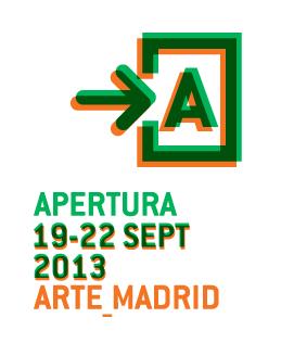 Logo de APERTURA 2013 | 17 galerías de APERTURA 2013 presentan artistas nuevos