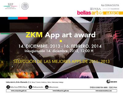 Muestra de los premios ZKM en México | Del movil a las apps móviles: nuevos soportes en la creación contemporánea