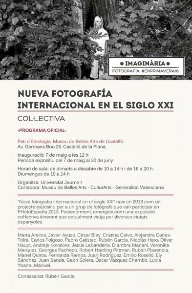 Cartel de la exposición NFISXXI.