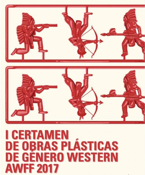 I Certamen de obras plásticas de génro western AWFF17