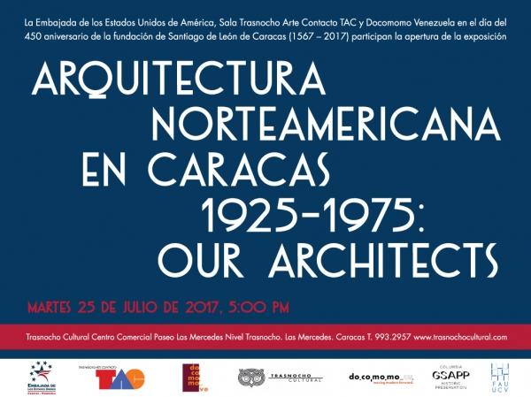 ARQUITECTURA NORTEAMERICANA EN CARACAS